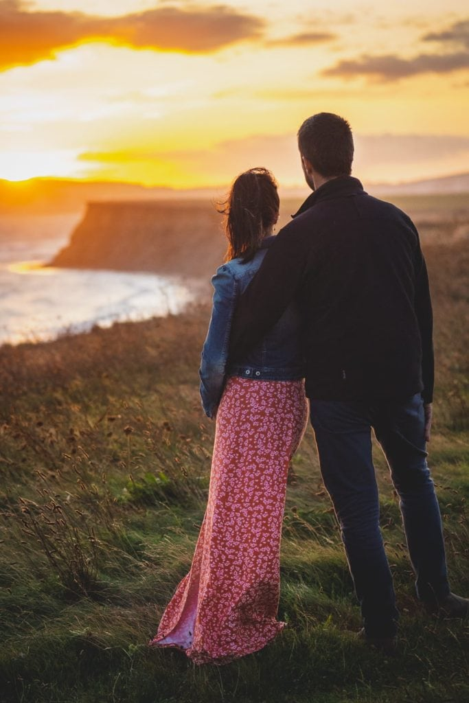 Isle of Wight engagement shoot